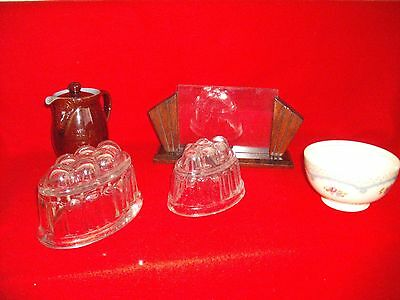 jelly moulds plus others