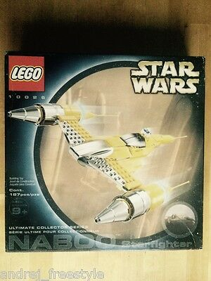 New Lego Star Wars 10026 Special Edition Naboo Starfighter Ucs - Collezione Nisb