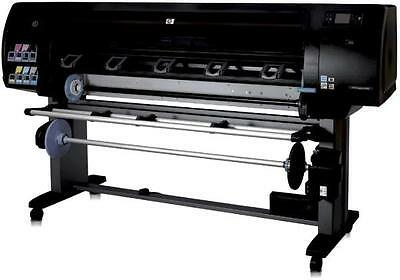 """HP DesignJet z6100 - 60""""-Pigmented Ink- Q6652A-Stand + Take-Up Reel"""