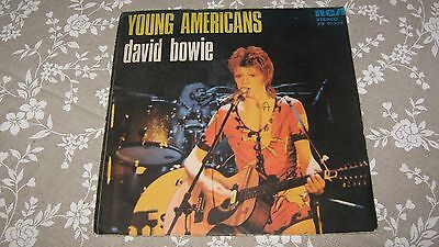 """7""""  David Bowie  Young Americans - Suffragette City    Originale Italy"""