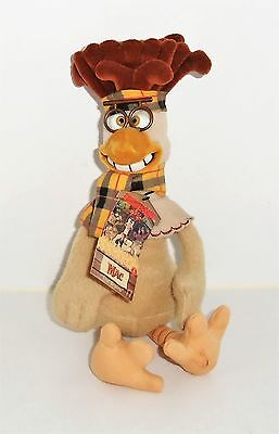 "Chicken Run ""Mac"" (the Brains) Soft Toy And Collectible - Tags!!"