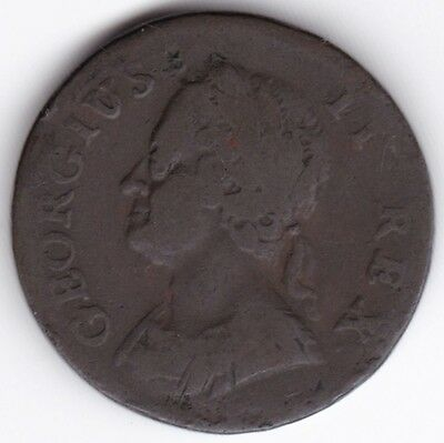 1746 George II Farthing***Collectors***