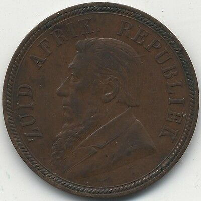 1894 South Africa Penny***Collectors***High Grade***