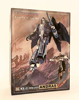 X-TRANSBOTS Transformers Masterpiece MX-II ANDRAS (Scourge) G1 MP