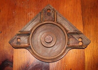 Antique Machine Age  Industrial Wood Foundry Mold Pattern Steampunk  Art