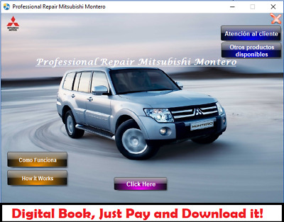 Factory Service Repair Manual Fsm Mitsubishi Montero Pajero 2007 - 2010