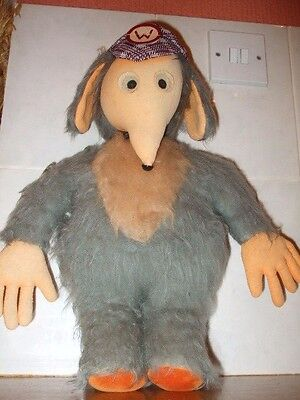 Vintage Womble Hand Made plush / soft toy 16ins high ~ WOMBLES OF WIMBLEDON