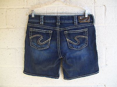 Women's Silver Jeans Size 30 Suki Short Pre Owned