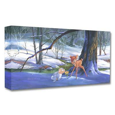 """Disney Fine Art Bambi  """"First Hint of Spring"""" by Michael Humphries"""
