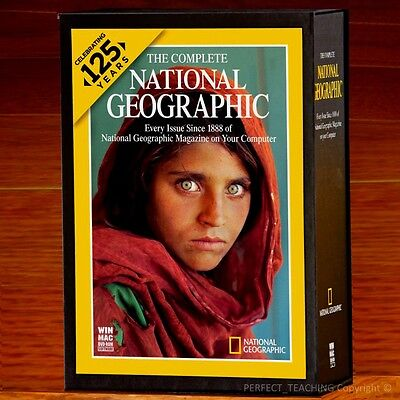 New! National Geographic 125 Years Complete Collection (1888 - 2012) Sealed Box