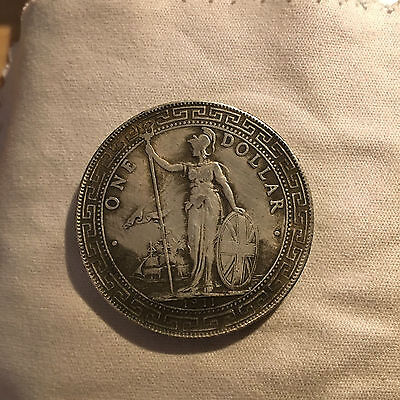 United Kindong ,hong Kong One Dollar 1911,not Is Silver , Copy