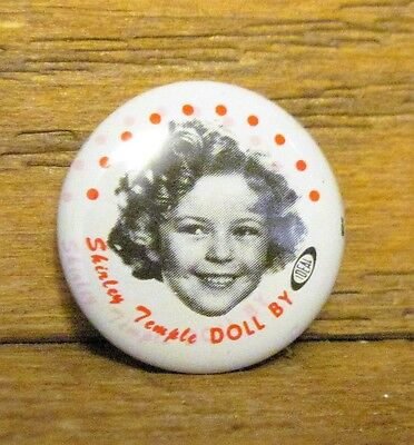 Shirley Temple Pinback - 1972