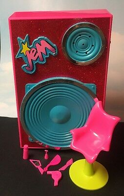 Jem and the Holograms BACKSTAGGER Playset Case & Accessories Hasbro