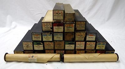 Large Lot Of Beautiful Vintage Player Piano Rolls!