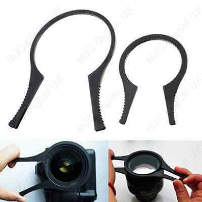 2 x Camera LENS HOOD Filter WRENCH Removal Tool 48 49 52 55 58, 62 - 82mm 2pcs