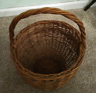 Wicker Shopping Basket in good condition