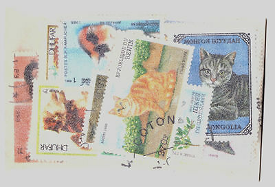 World Selection x 35 Cat Stamps. MNH/CTO.. #2030