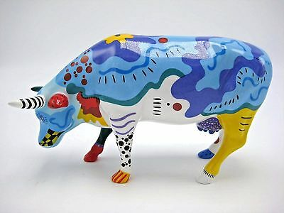 Cows on Parade Cow Doodle Retired Figurine