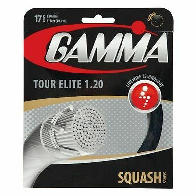 Gamma Tour Elite Squash String Set