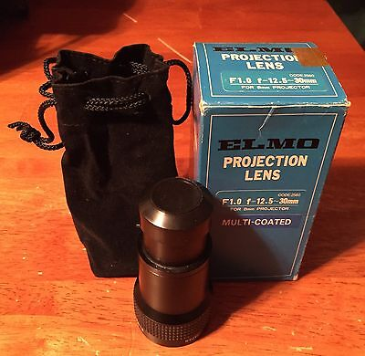 ELMO F1.0 Super 8mm Projection Lens