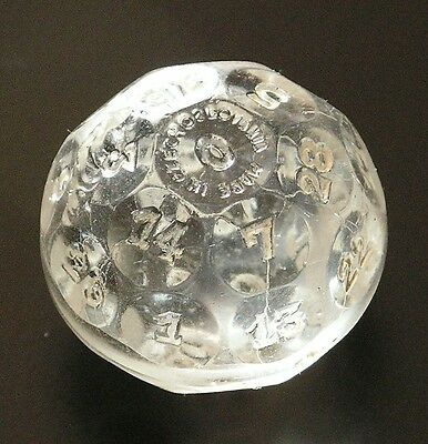 Vintage Czech Fortune Tellers Ball