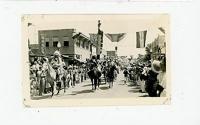 Indian Chiefs on Horses VINTAGE Photo GALLUP New Mexico NAVAJO 1930s