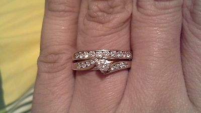 1/2 Crt (TDW) MHJ diamond ring set