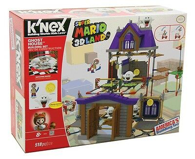 NEW Knex Super Mario Ghost House Building Set from Mr Toys Toyworld