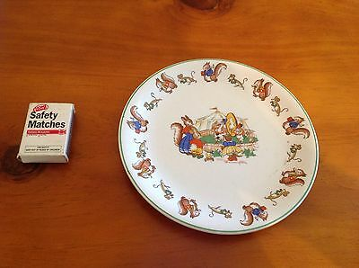 Alpine White, Ironstone, Wood & Sons, England, Childs Plate, Squiral Circus