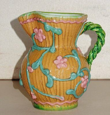 Vintage *SMALL CREAMER/MILK JUG* Hand Crafted Pottery made in ITALY - Foreign
