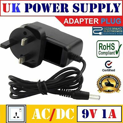 Compatible For NINTENDO NES  Power Supply Adapter Charger UK Mains Plug 9V AC DC