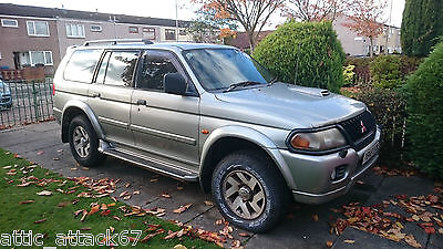 Reluctant Sale - Silver Mitsubishi Shogun Sport 4x4 Equippe 2.5TD - Repairable