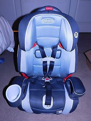 Graco Argos 70 Axel Pattern 3-In-1 Convertible Car Seat For Children 20-120 Lbs