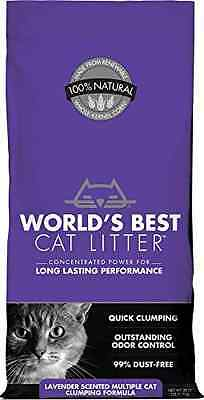 World's Best Cat Litter 391038 Multiple Cat Scented Clumping Formula, 28 Pound