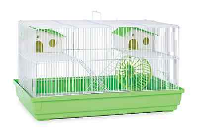 Prevue Hendryx Deluxe Hamster and Gerbil Cage, Lime Green