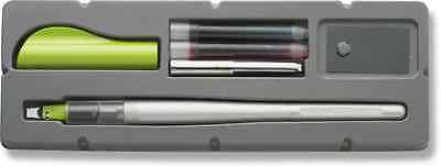 Pilot Parallel Pen 2-Color Calligraphy Pen Set, with Black and Red Ink Cartridge