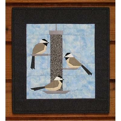 CHICKADEE TREAT QUILTING PATTERN, Paper Foundation Pattern From MH Designs NEW