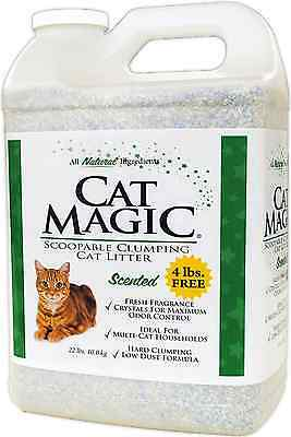 Cat Magic Scented Clumping Clay Cat Litter, 22-Pound