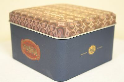 Fossil Watch Container Tin Box SBT0523 09/02 - Empty