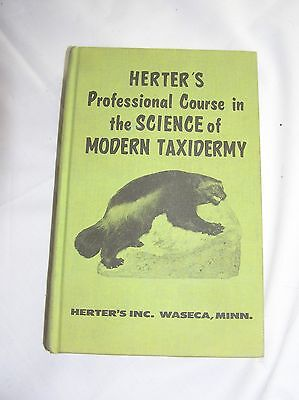 Herter's Professional Course In The Science Of Modern Taxidermy Copyright 1971
