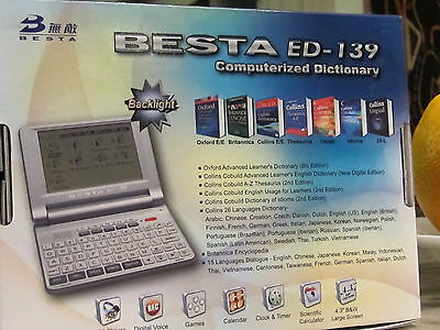 Oxford + Colbuild Advanced Learner's Electronic English Talking Dictionary