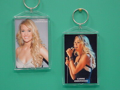 CARRIE UNDERWOOD - with 2 Photos - Designer Collectible GIFT Keychain 02