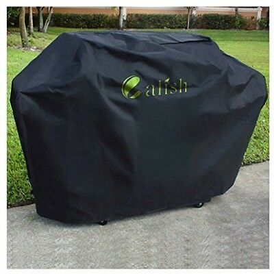 CALISH Barbecue Cover Heavy Duty Waterproof Breathable Oxford Fabric Extra