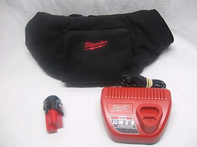 Milwaukee HEATED Hand Warmer Kit Muff M12 battery charger bundle WORKS GREAT