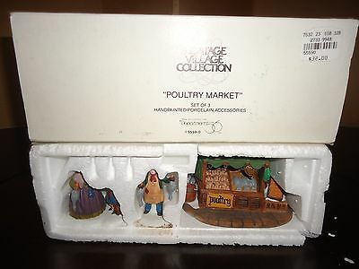 Dept 56  Poultry Market / In Box / Come See