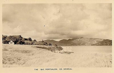 THE BAY PORTSALON CO. DONEGAL IRELAND RP IRISH POSTCARD by KENNELLY of TRALEE