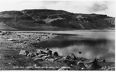 SESSIAGH LOUGH PORT-NA-BLAGH CO. DONEGAL IRELAND RP VALENTINES POSTCARD No. CP3