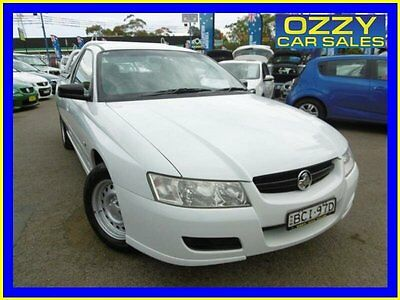 2007 Holden Commodore VZ MY06 Upgrade White Automatic 4sp A Utility