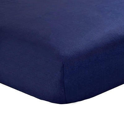 Carter's Navy Crib Fitted Sheet