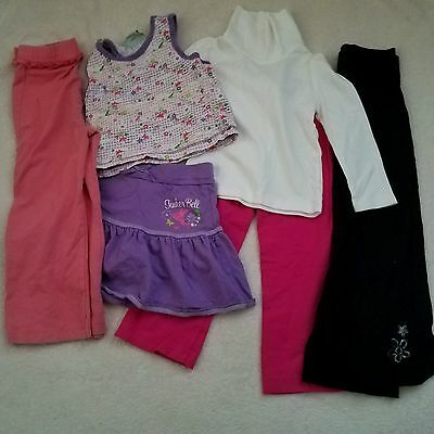 Toddler Girl's Clothing Lot - 3T 4T - 6 PC